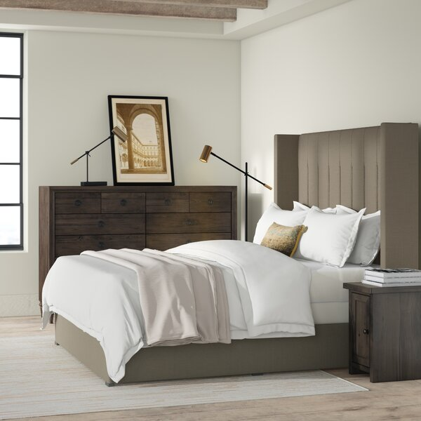 Hansen Upholstered Standard Bed by Brayden Studio