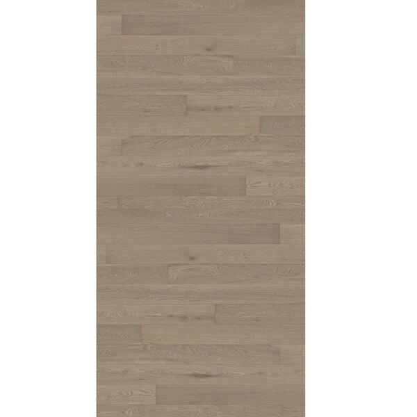 Linnea 4-5/8 Engineered Oak Hardwood Flooring in Pomegranate by Kahrs