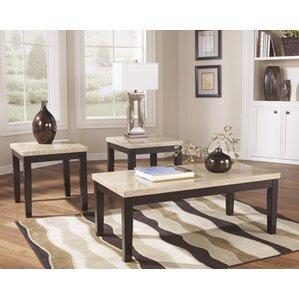 vanhausen 3 piece coffee table set