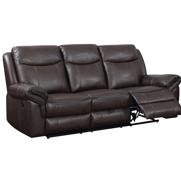 Mak Transitional Gel Reclining Sofa by Red Barrel Studio
