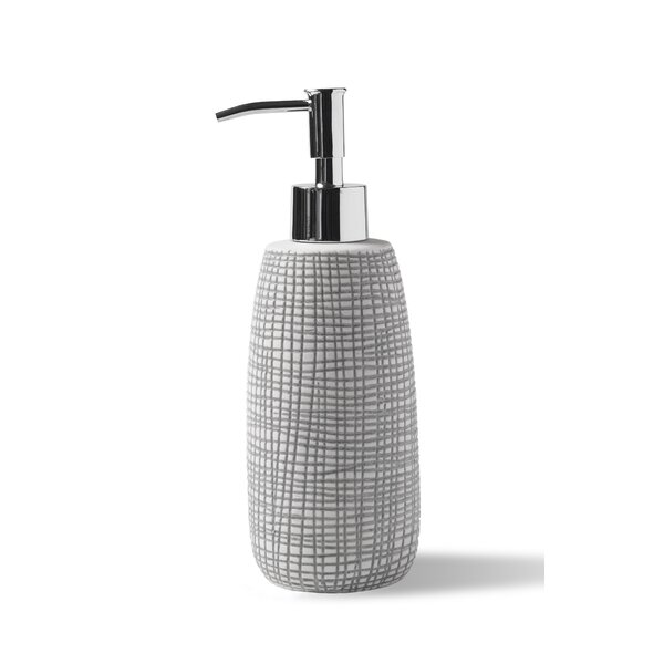 Raffia Soap Dispenser by Kassatex Fine Linens