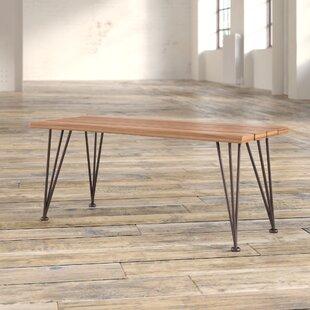 Guyapi Indoor Acacia Wood Coffee Table Trent Austin Design