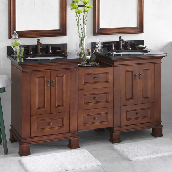 Venice 60 Double Bathroom Vanity Set by Ronbow