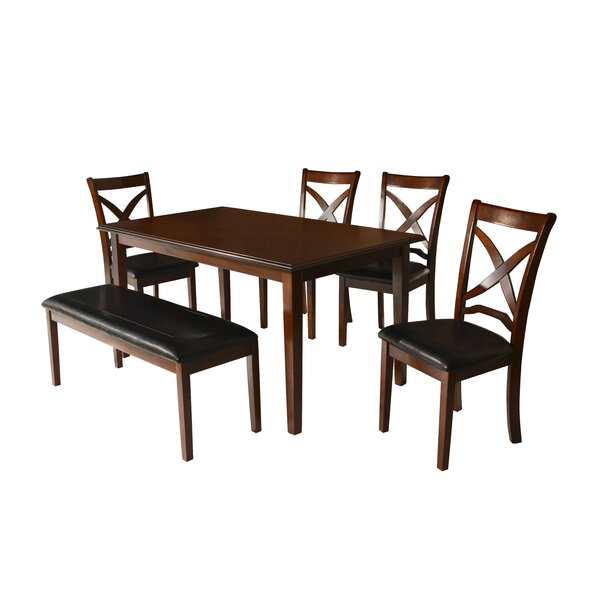 Hohl 6 Piece Dining Set by Charlton Home