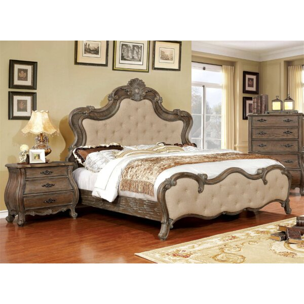 Kristopher Upholstered Standard Bed By Astoria Grand by Astoria Grand 2020 Sale