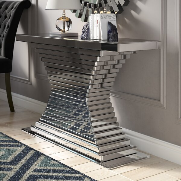Levita Console Table By Everly Quinn