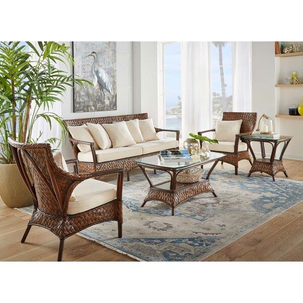 2 Pieces Coffee Table Set by Panama Jack Sunroom Panama Jack Sunroom