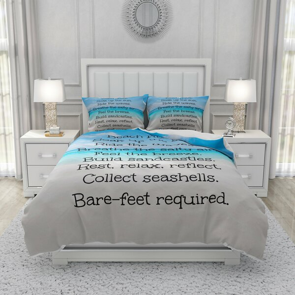 Durrah Beach Rules Duvet Cover Set