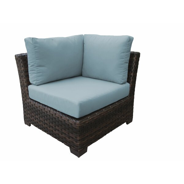 River Brook Patio Chair with Cushions by kathy ireland Homes & Gardens by TK Classics kathy ireland Homes & Gardens by TK Classics