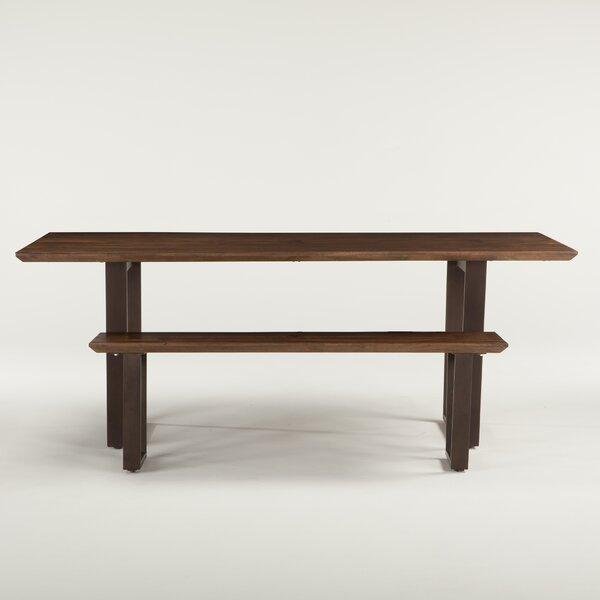 Clanton Wood Bench by Gracie Oaks
