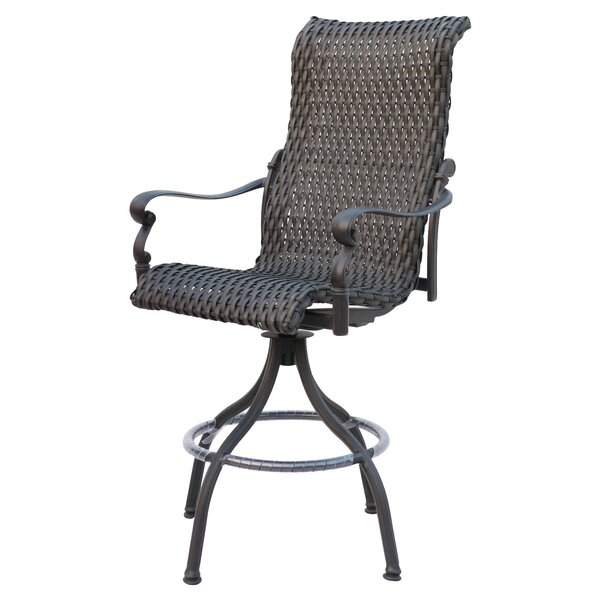 Kentland 29 Patio Bar Stool Frame by Darby Home Co