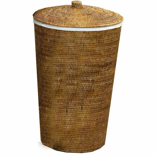 Single Laundry Hamper with Lid by Mistana