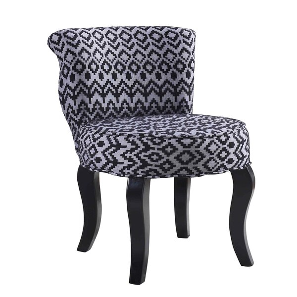 Jackson Triangle Trellis Side Chair by Bungalow Rose