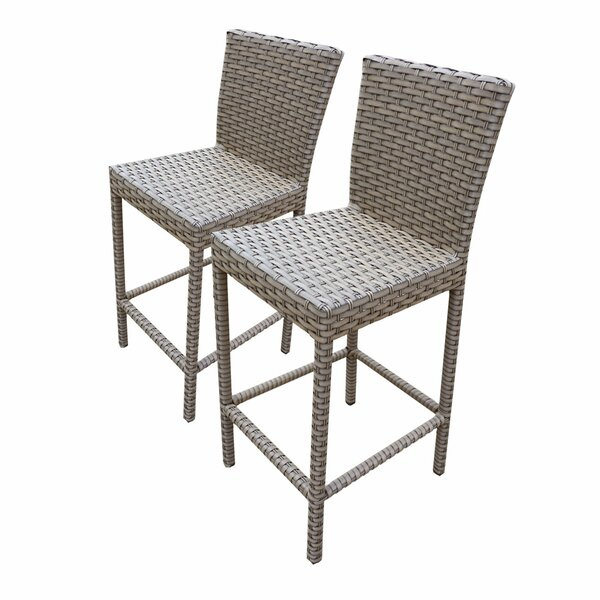 Oasis 30 Patio Bar Stool (Set of 2) by TK Classics