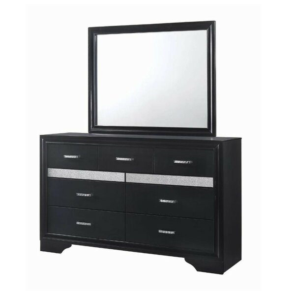 Pearce Dresser with Mirror by House of Hampton