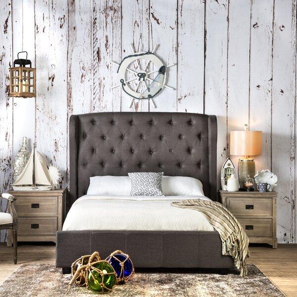 Florenza Upholstered Standard Bed by Hokku Designs