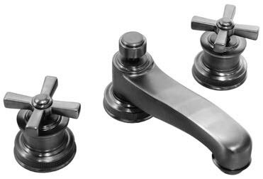 Windsor Widespread Bathroom Faucet with Drain Assembly by Harrington Brass Works Harrington Brass Works