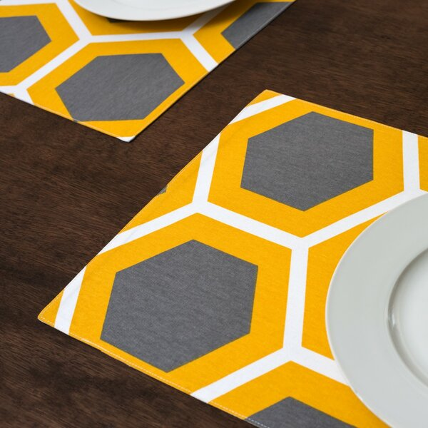 Brower Placemat (Set of 4) by Ivy Bronx