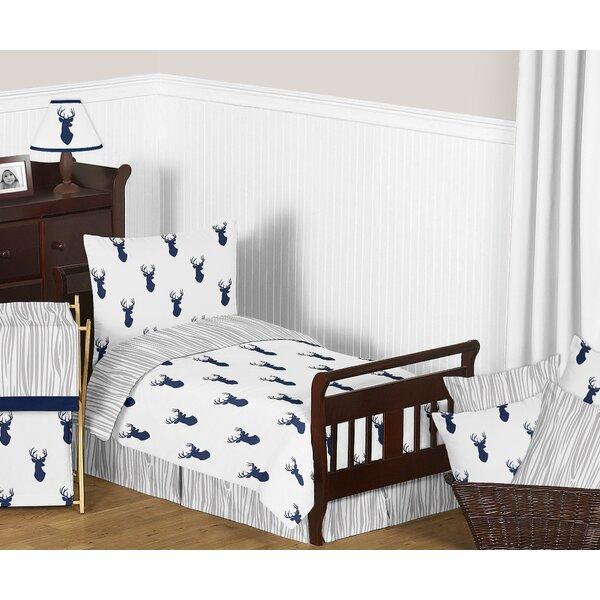Woodland Deer 5 Piece Toddler Bedding Set by Sweet Jojo Designs
