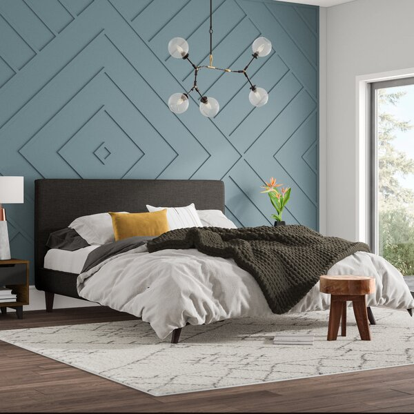Astra Upholstered Platform Bed by Mercury Row
