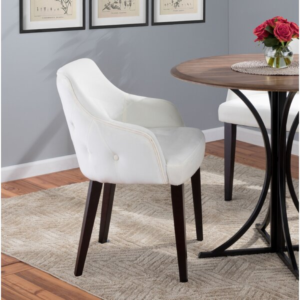 Vinton Upholstered Dining Chair (Set of 2) by Wade Logan
