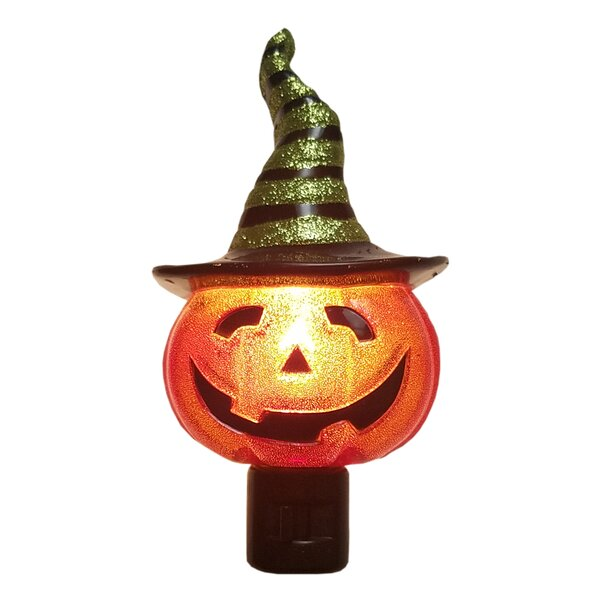Jack O Lantern Night Light by Sienna