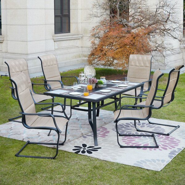 Sigler 7 Piece Dining Set by Charlton Home