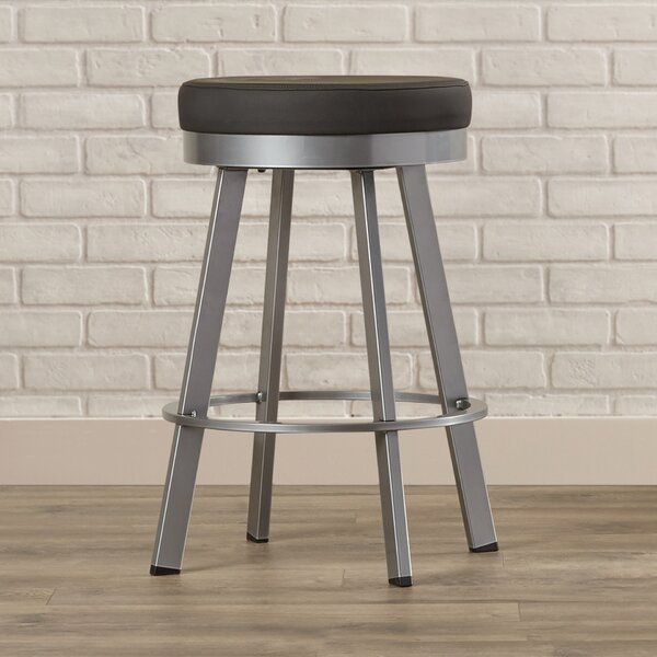 Jamieson 26.25 Swivel Bar Stool by Brayden Studio