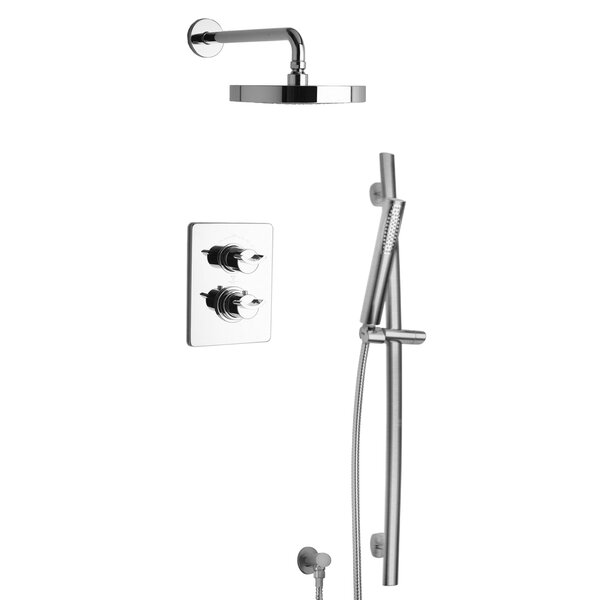Morgana Thermostatic Valve with 2 Way Diverter Volume Control by LaToscana