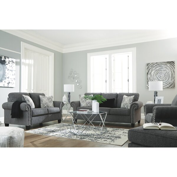 Knepper Configurable Living Room Set by House of Hampton