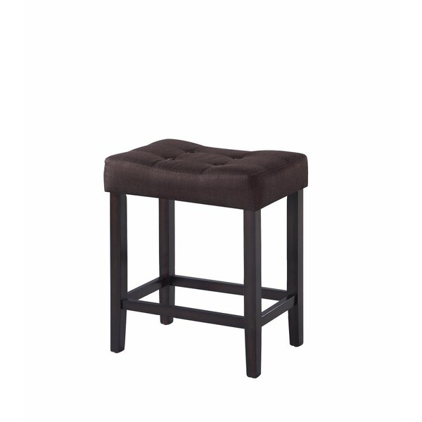 Komar Backless Modern 24.5 Counter Height Stool (Set of 2) by Winston Porter