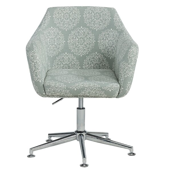 Metro Medallion Office Chair by House of Hampton