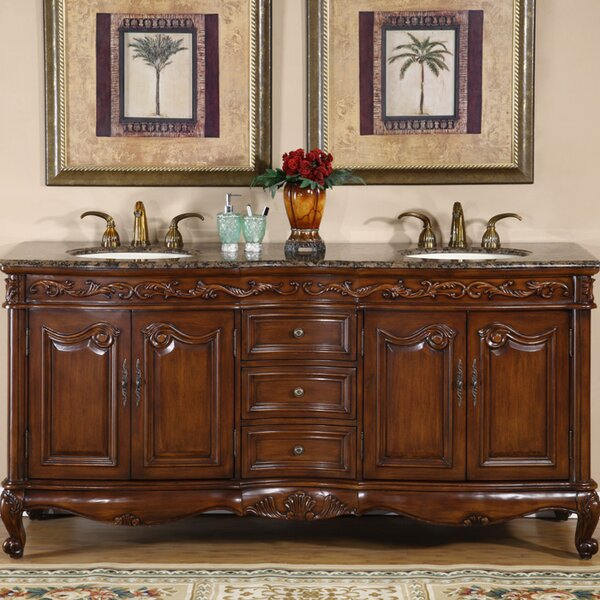 Keifer 72 Double Bathroom Vanity Set by Astoria Grand
