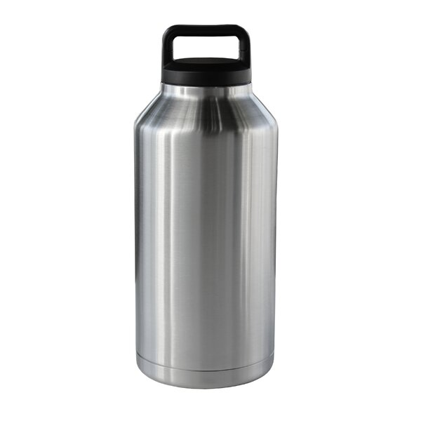 18/8 Stainless Steel Rambler 64 Oz. Bottle Beer Growler by Symple Stuff