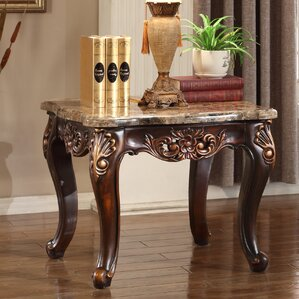 Arianne End Table by Astoria Grand