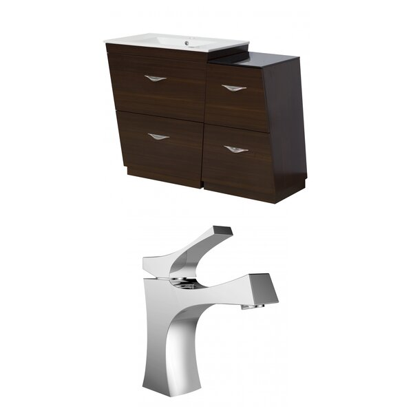 Vee 43 Single Bathroom Vanity Set