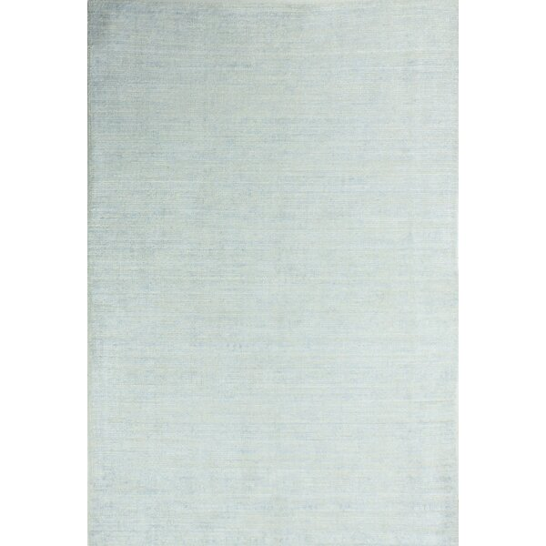 Severo Hand Woven Sky Area Rug by Gracie Oaks