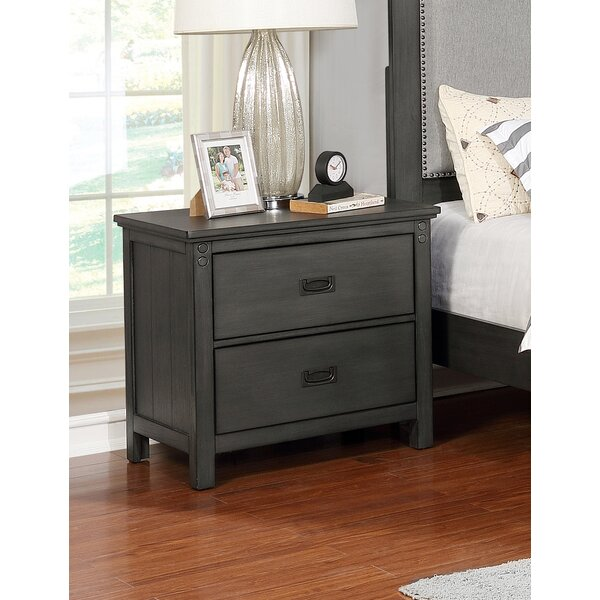 Keeneland 2 Drawer Nightstand by Winston Porter