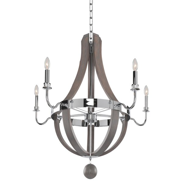 Griffie 5-Light Candle Style Empire Chandelier by Union Rustic Union Rustic