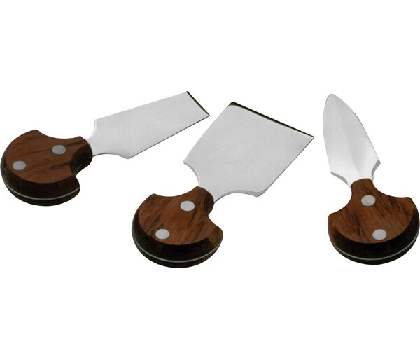 Kattie 3 Piece Cheese Knife Set by Mint Pantry