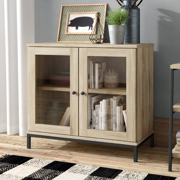 Ermont 2 Door Accent Cabinet by Laurel Foundry Modern Farmhouse