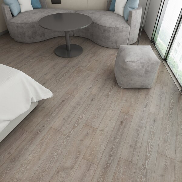 Augustus 7.71 x 72.83 x 12mm Oak Laminate Flooring in True Cognac by Serradon