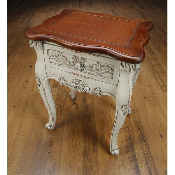 Cynthia End Table with Storage by AA Importing