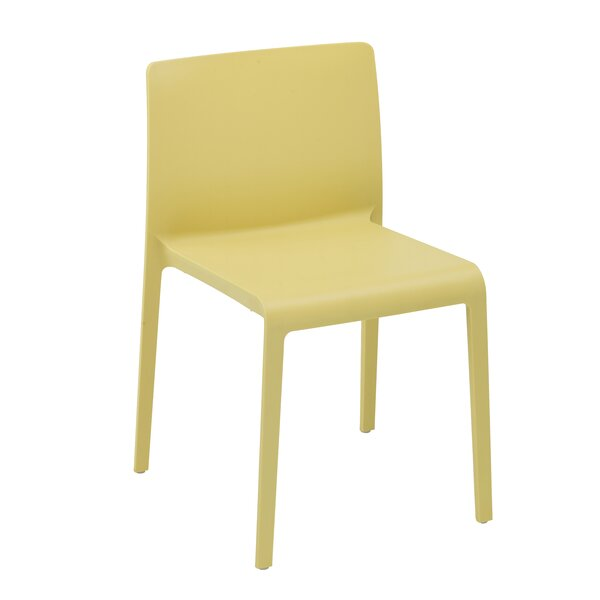 Volt Stacking Patio Dining Chair (Set of 4) by Infinita Corporation