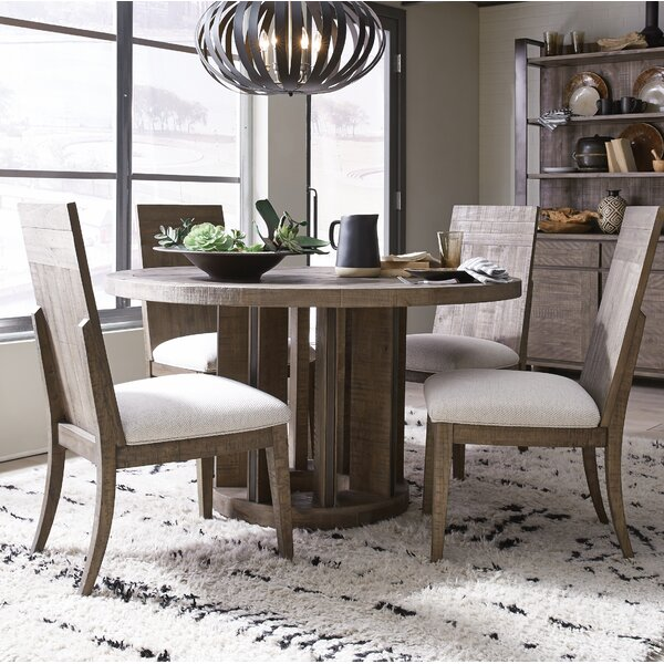 Norah 5 Piece Solid Wood Dining Set by Foundry Select