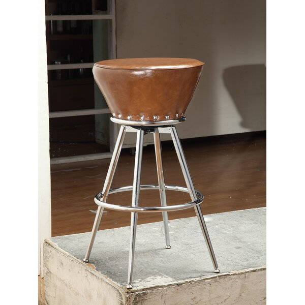 Aitken 30 Swivel Bar Stool by Foundry Select
