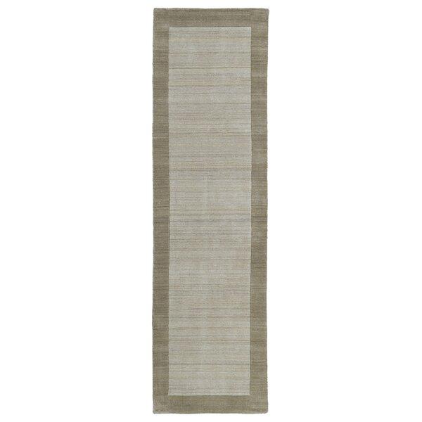 Barnard Hand Woven Wool Ivory/Beige Area Rug by Red Barrel Studio
