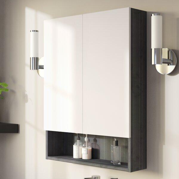 Maryalice Modern 23.5 W x 31 H Wood Surface Mount Medicine Cabinet by Royal Purple Bath Kitchen