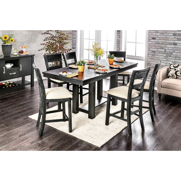 Aiden 7 Piece Extendable Dining Set by Gracie Oaks