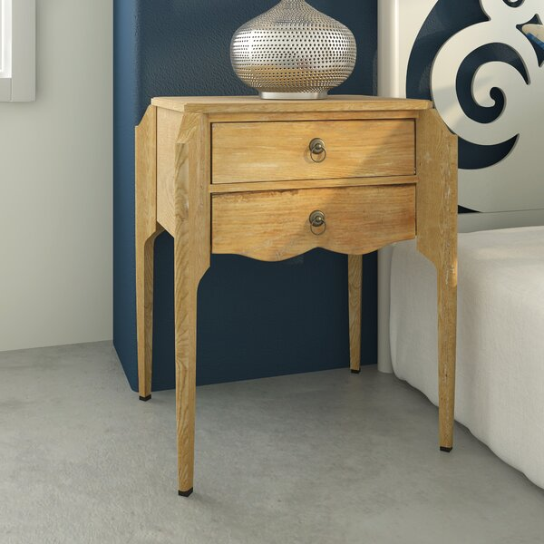 Jazmyn End Table With Storage By Alcott Hill